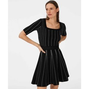 Club Monaco | Teddiko Sweater Dress Black XS